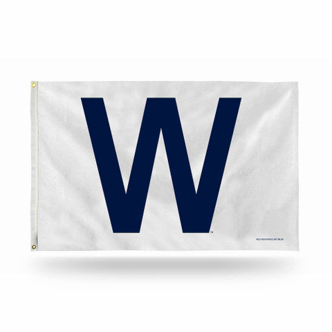 "Chicago Cubs ""W"" MLB Grommet Flag"