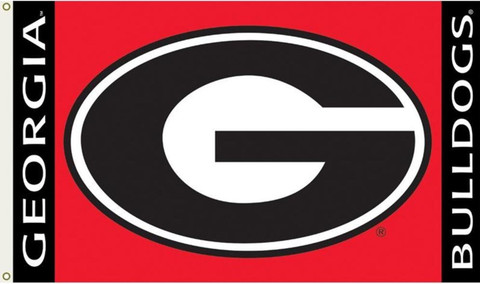 University of Georgia Grommet Flag