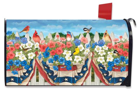 American Birds Spring Mailbox Cover
