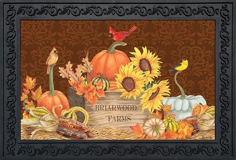 Briarwood Farms Floral Doormat