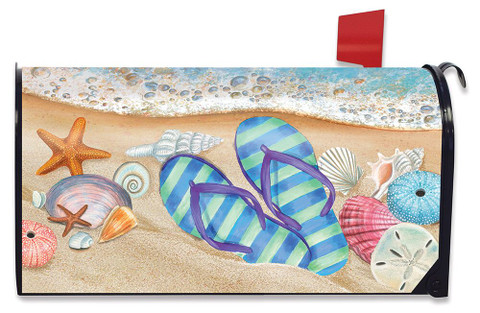 Day In The Sun Summer Magnetic Mailbox Cover
