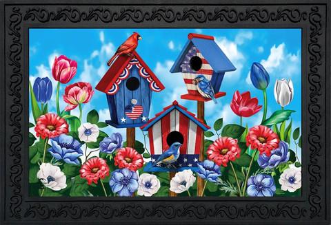 American Birdhouses Summer Doormat