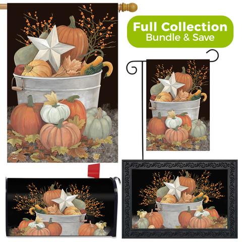 Fall Bushel Primitive Design Collection