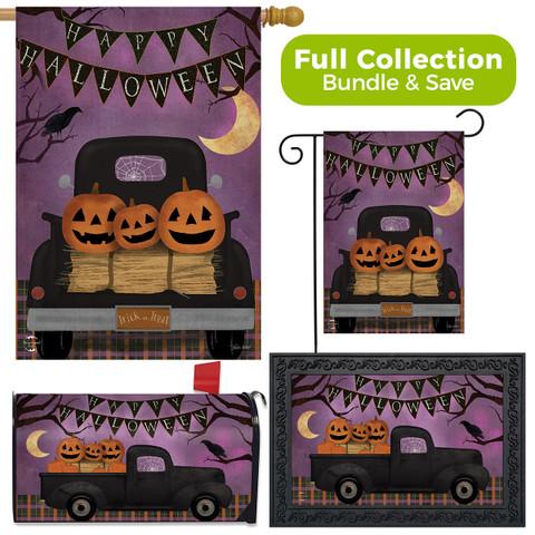 Halloween Truck Primitive Design Collection
