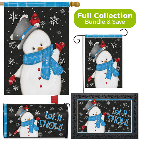 Jolly Winter Snowman Design Collection