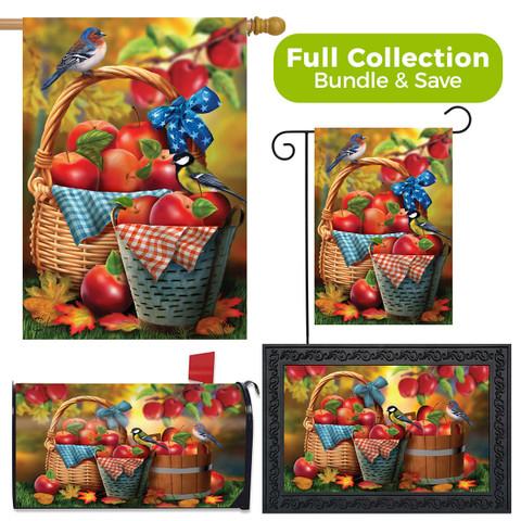 Harvest Apple Basket Fall Design Collection
