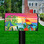 Paradise Parrot Summer Magnetic Mailbox Cover