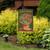 Potted Geraniums Summer Garden Flag
