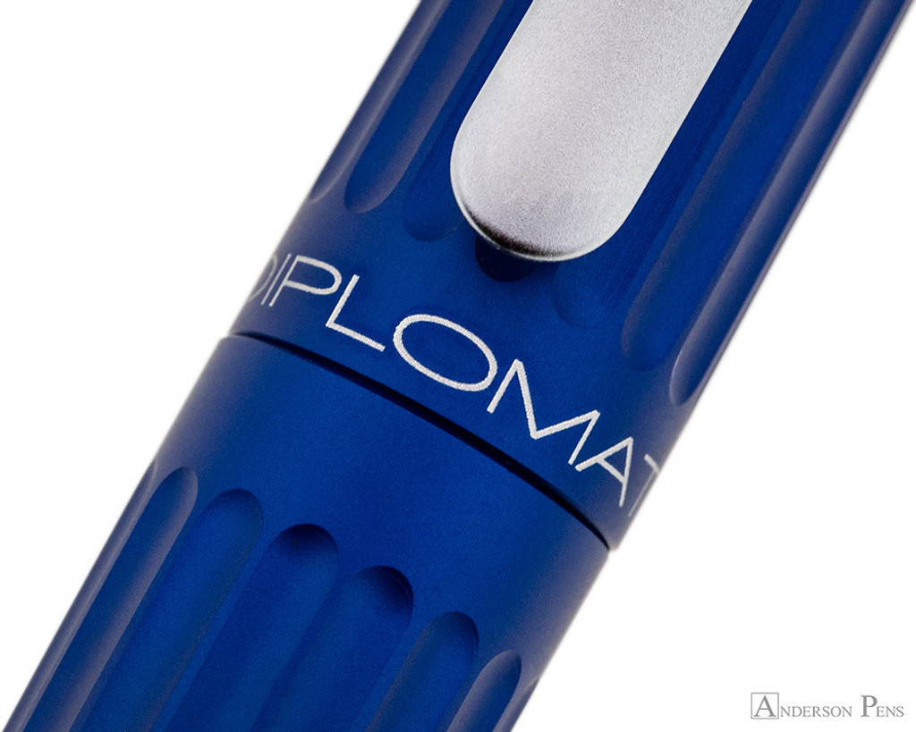 Diplomat Aero Fountain Pen - Blue