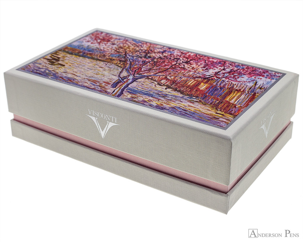 Visconti Van Gogh Fountain Pen - Souvenir de Mauves - Special Edition Box