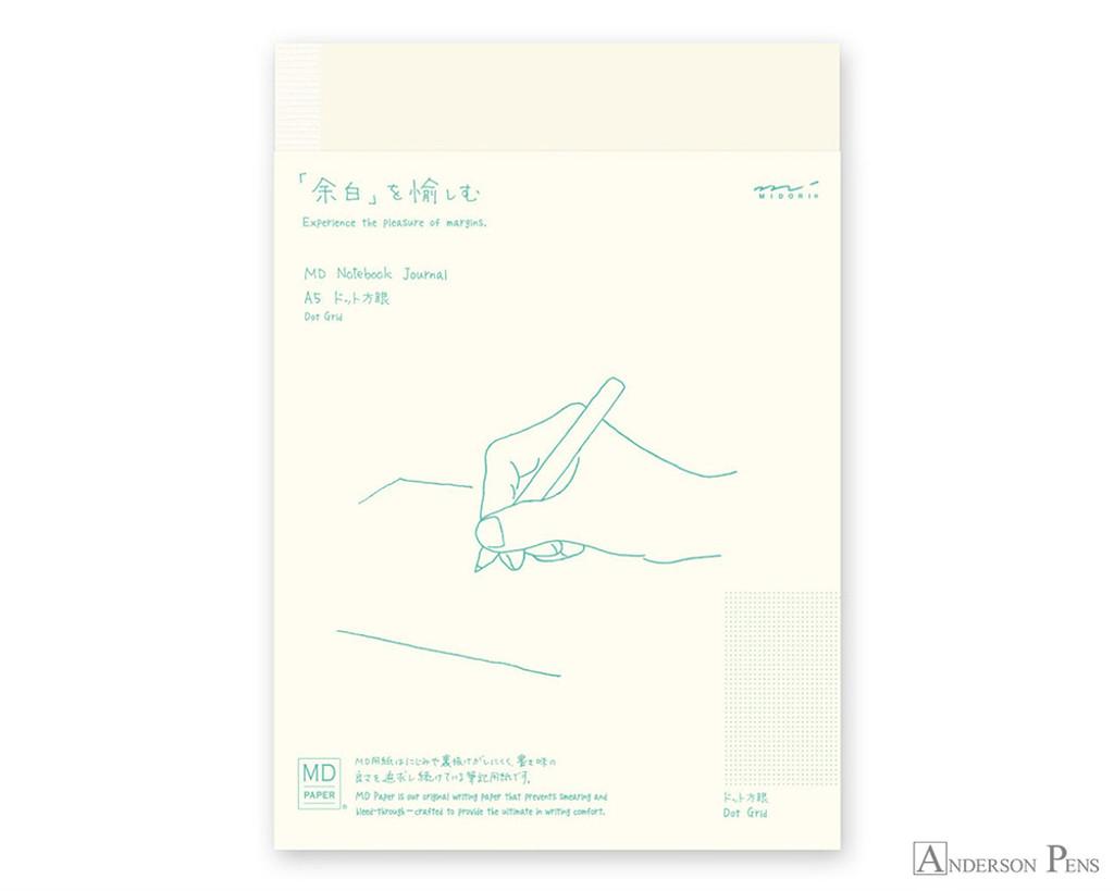 Midori MD Notebook A5 - Dot Grid