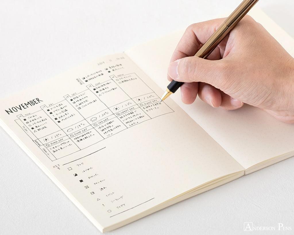Midori MD Notebook A5 - Dot Grid - Beauty 2