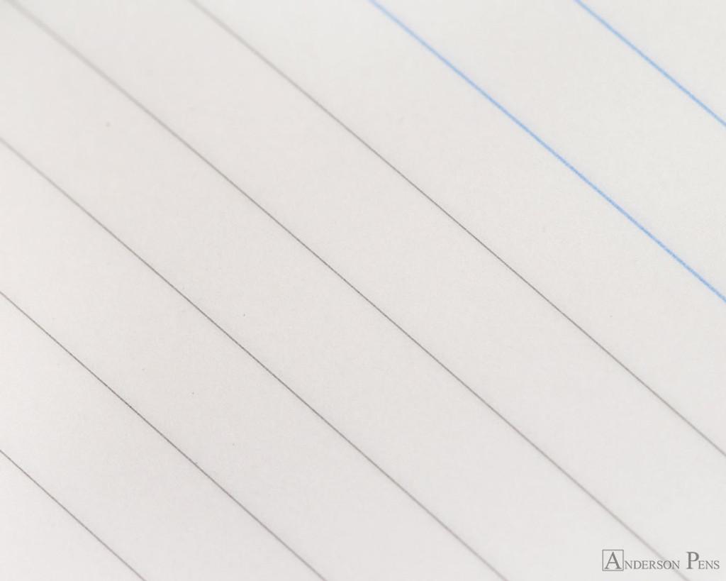 ProFolio Petite Journal - Medium, Ocean - Page Closeup