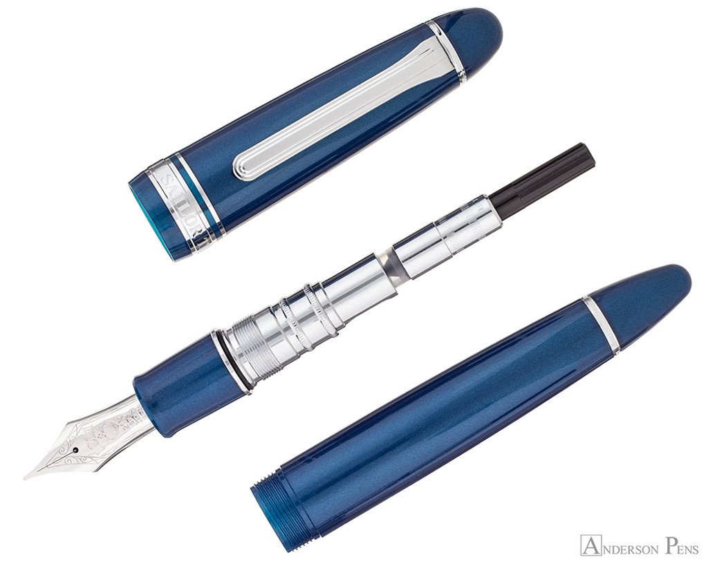 Sailor 1911 King of Pen Fountain Pen - Stormy Sea - Parted Out