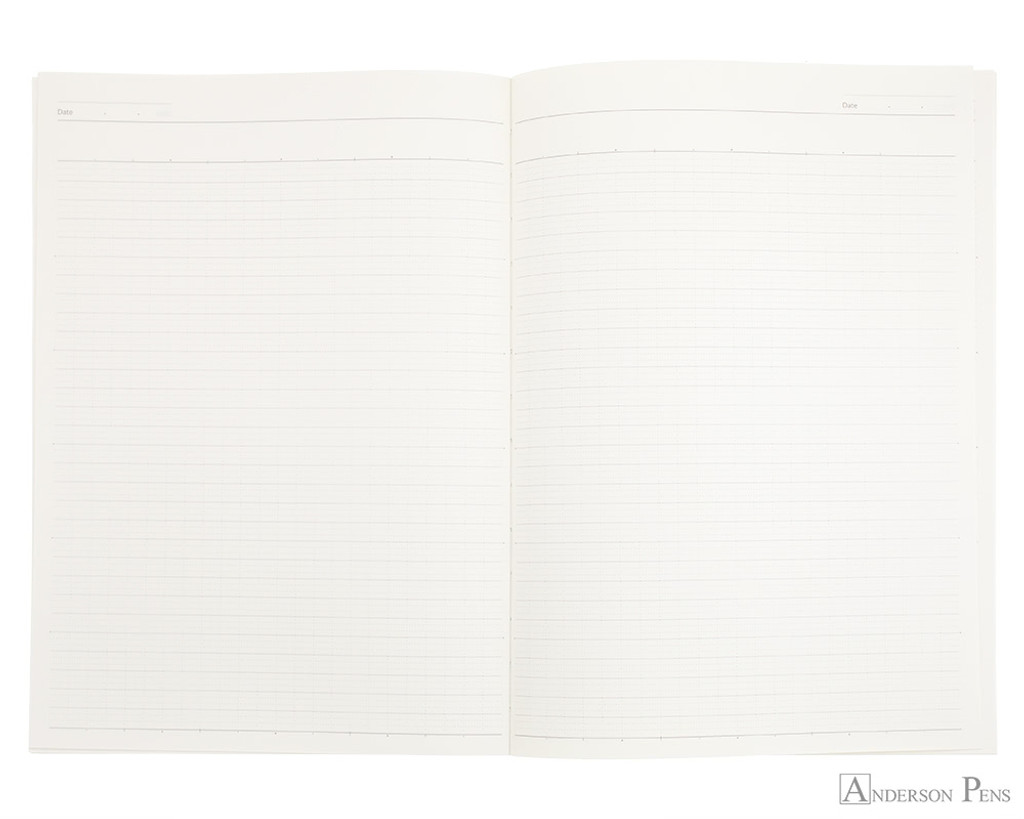 ProFolio Oasis Notebook - B5, Wintergreen - Open