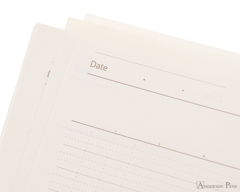 ProFolio Oasis Notebook - B5, Wintergreen - Date
