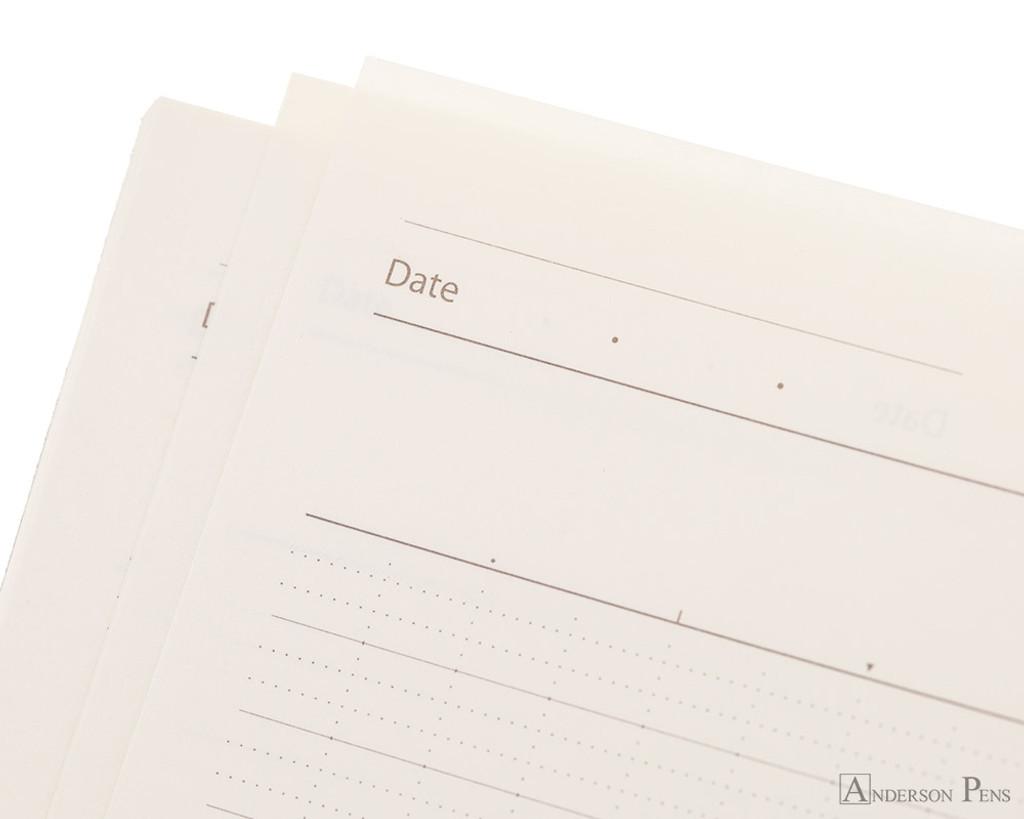 ProFolio Oasis Notebook - A6, Sky - Date