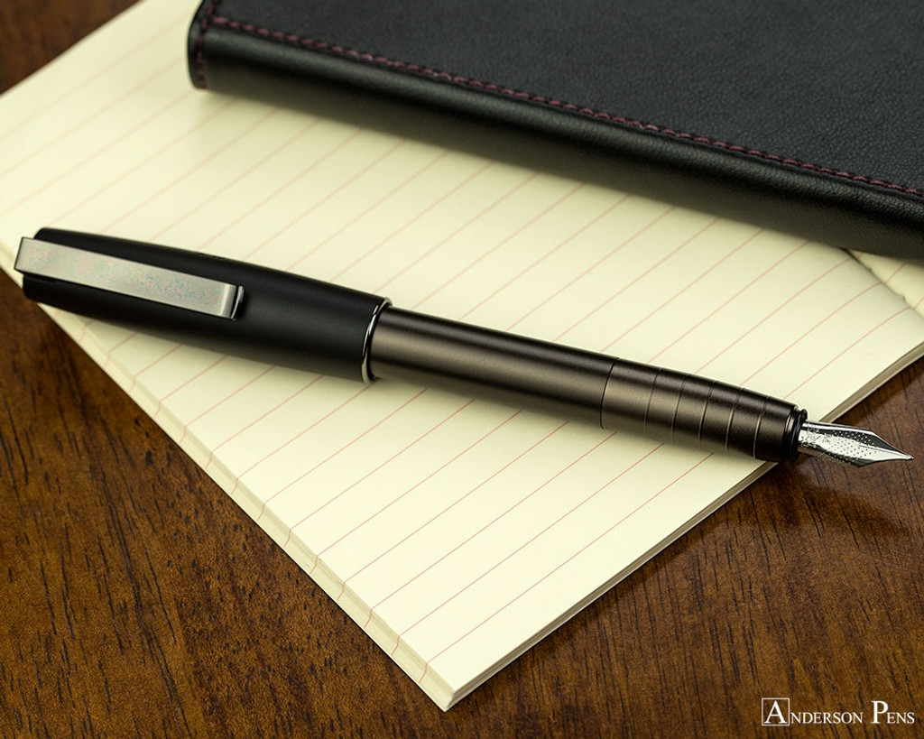 Faber-Castell Loom Gunmetal Matte Fountain Pen - Posted on Notebook