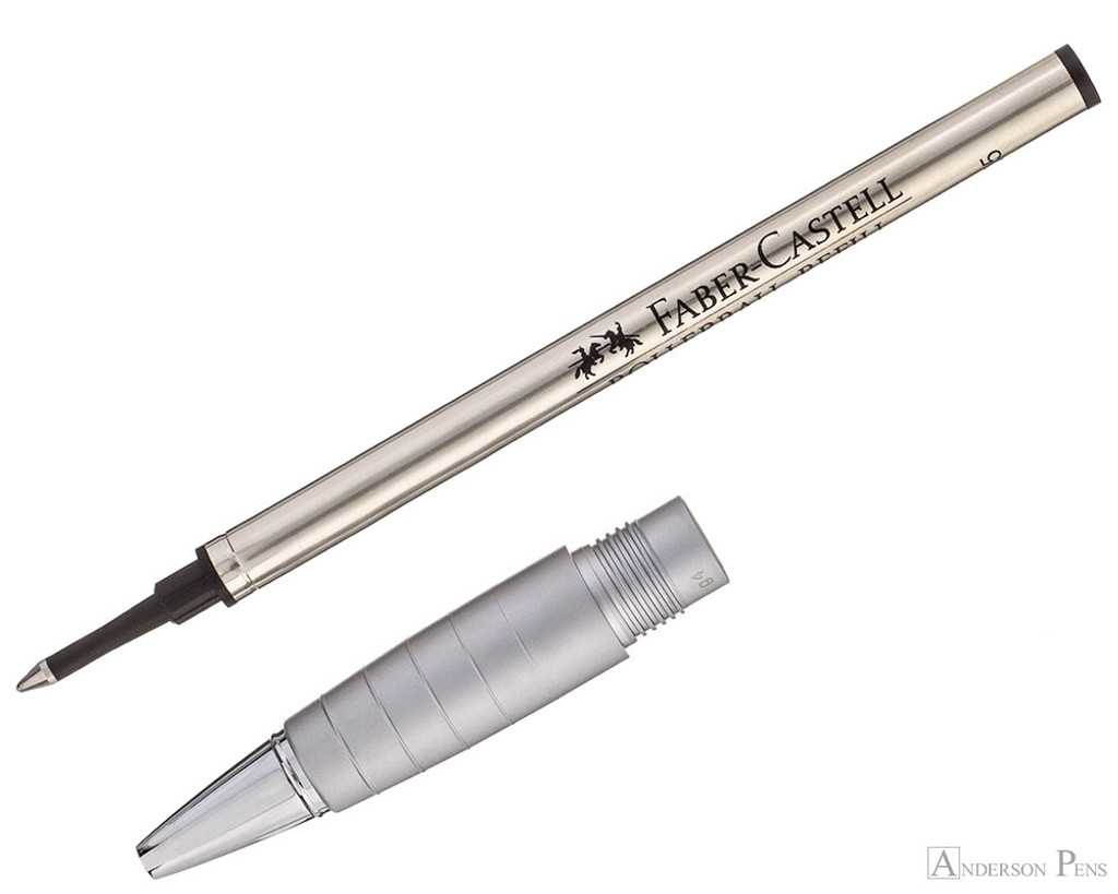 Faber-Castell Loom Rollerball - Piano White - Section and Refill