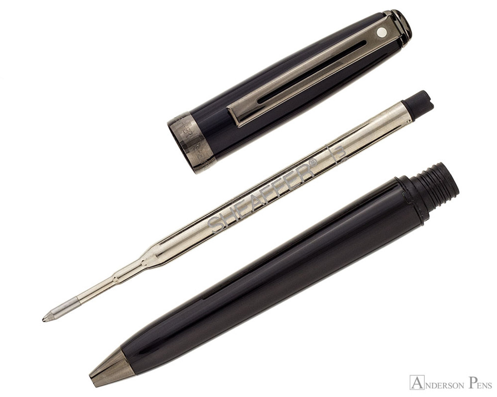 Sheaffer Prelude Ballpoint - Gloss Black Lacquer with Gunmetal Trim - Parted Out