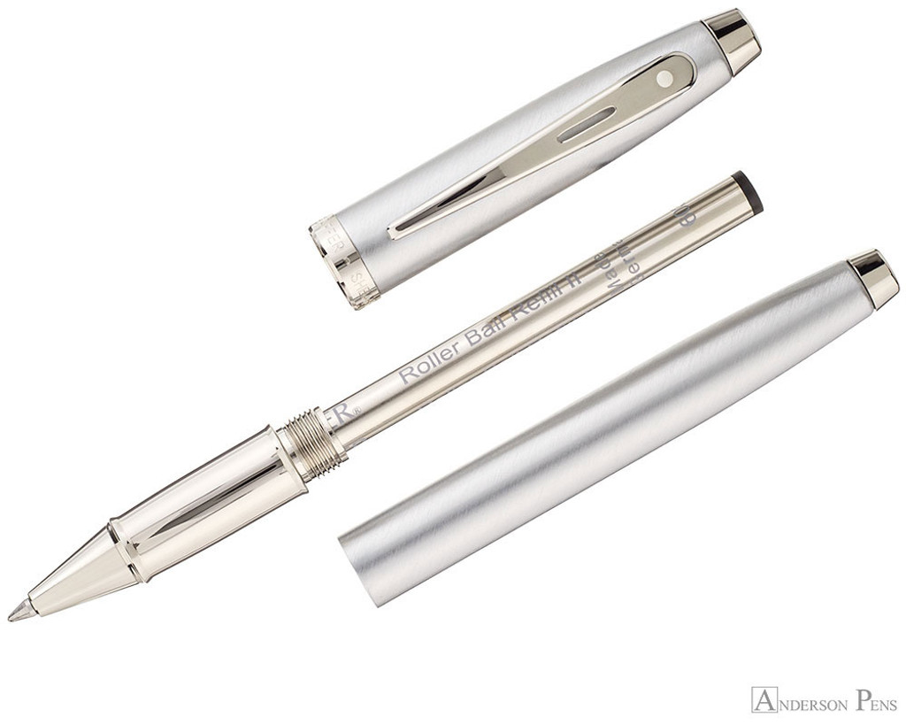 Sheaffer 100 Rollerball - Brushed Chrome - Parted Out