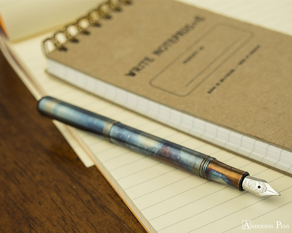 Kaweco Liliput Fountain Pen - Fireblue - Posted on Notebook