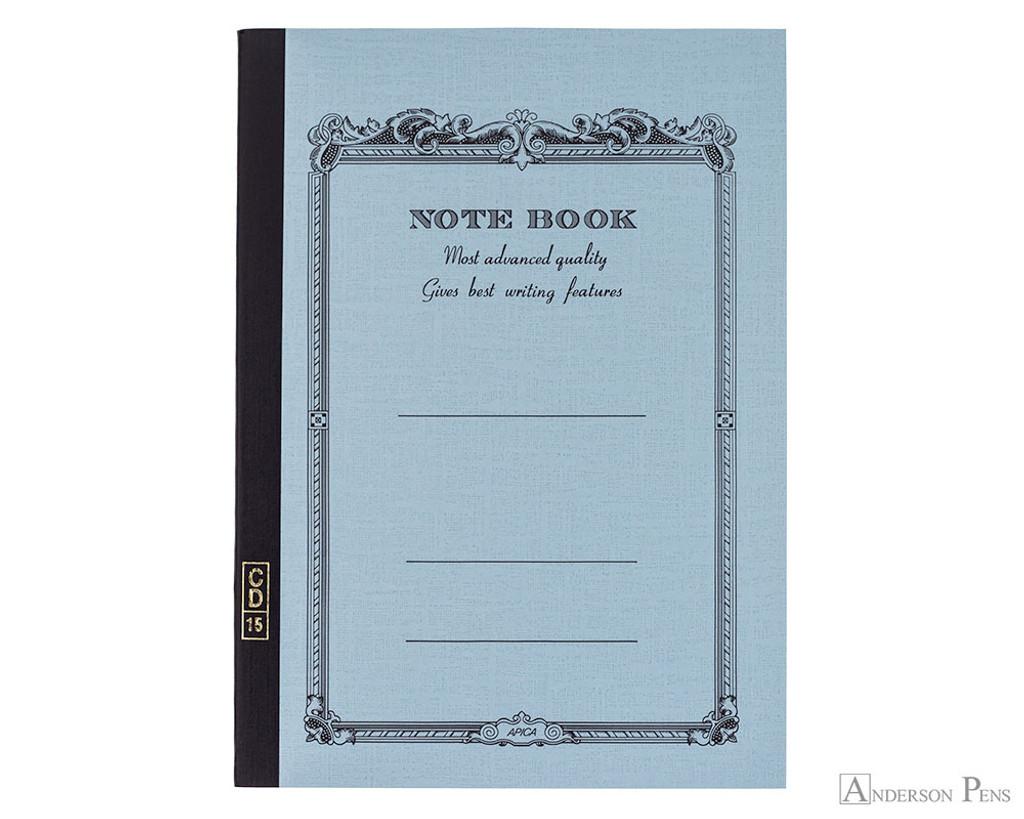 APICA CD15 Notebook - B5, Lined - Light Blue