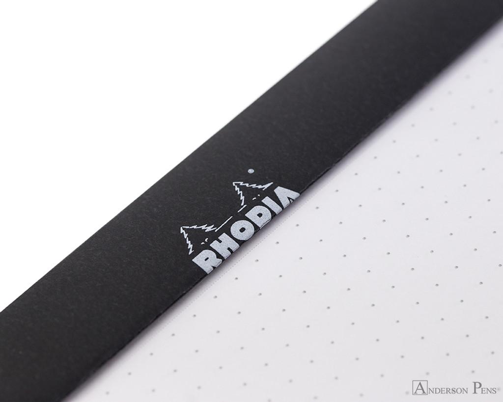 Rhodia No. 16 Staplebound Notepad - A5, Dot Grid - Black perforations
