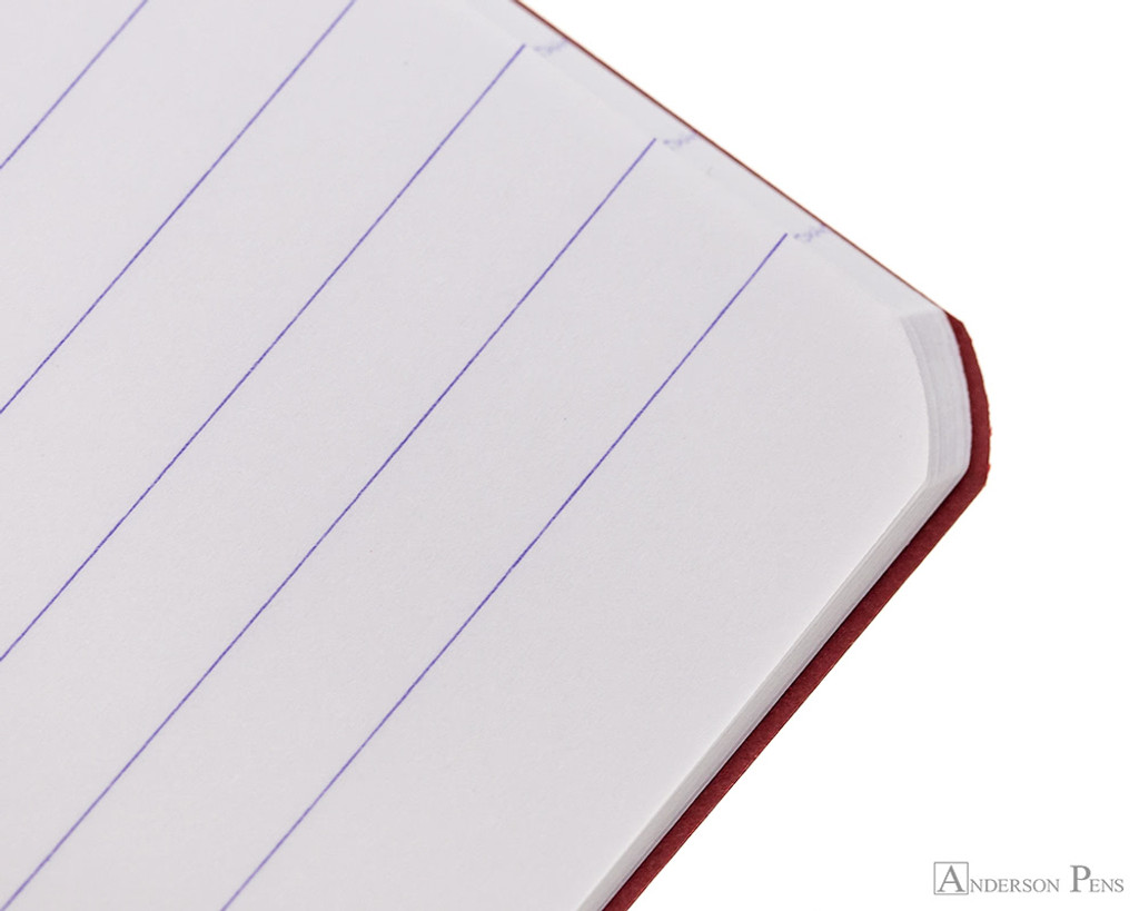 Clairefontaine Basic Staplebound Duo - 5.75 x 8.25, Lined Paper - Red and Green Ruling