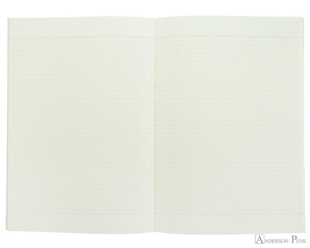 Life Kappan Notebook - B5 (7 x 10), Graph Paper - Open