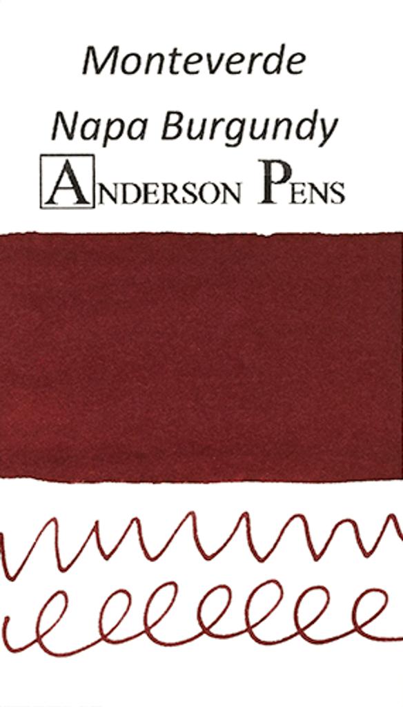 Monteverde Napa Burgundy Ink Sample (3ml Vial)