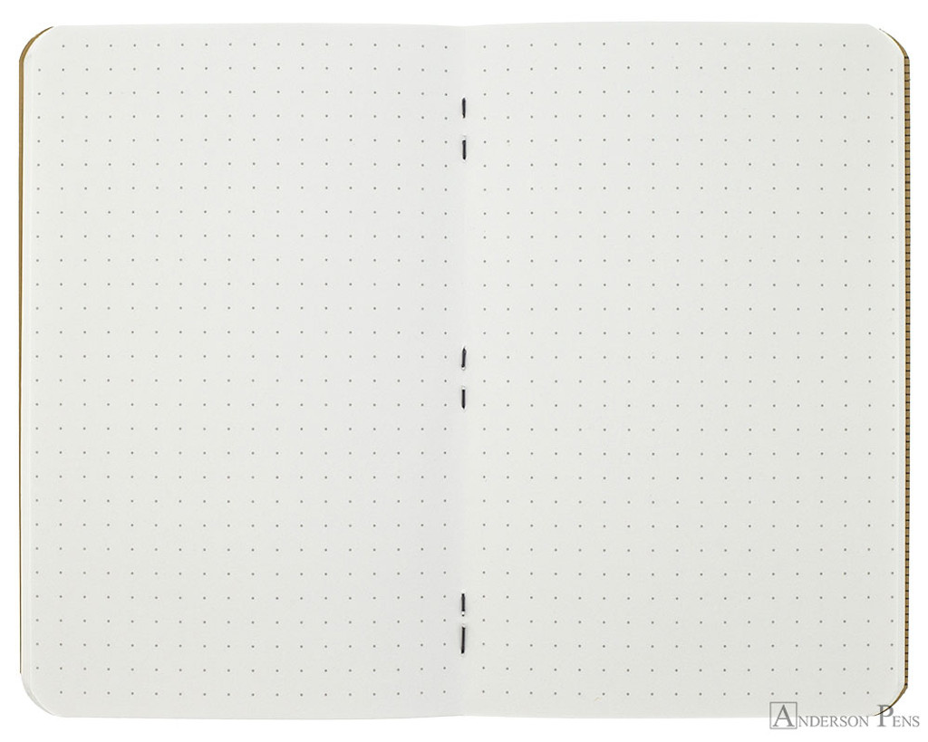 Field Notes Notebooks - Pitch Black, Dot Grid (3 Pack) - Open