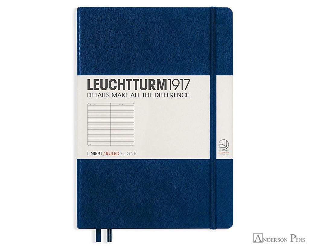 Leuchtturm1917 Notebook - A5, Lined - Navy