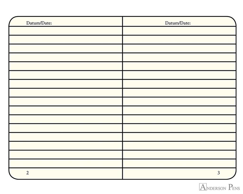 Leuchtturm1917 Softcover Notebook - A6, Lined - Black open