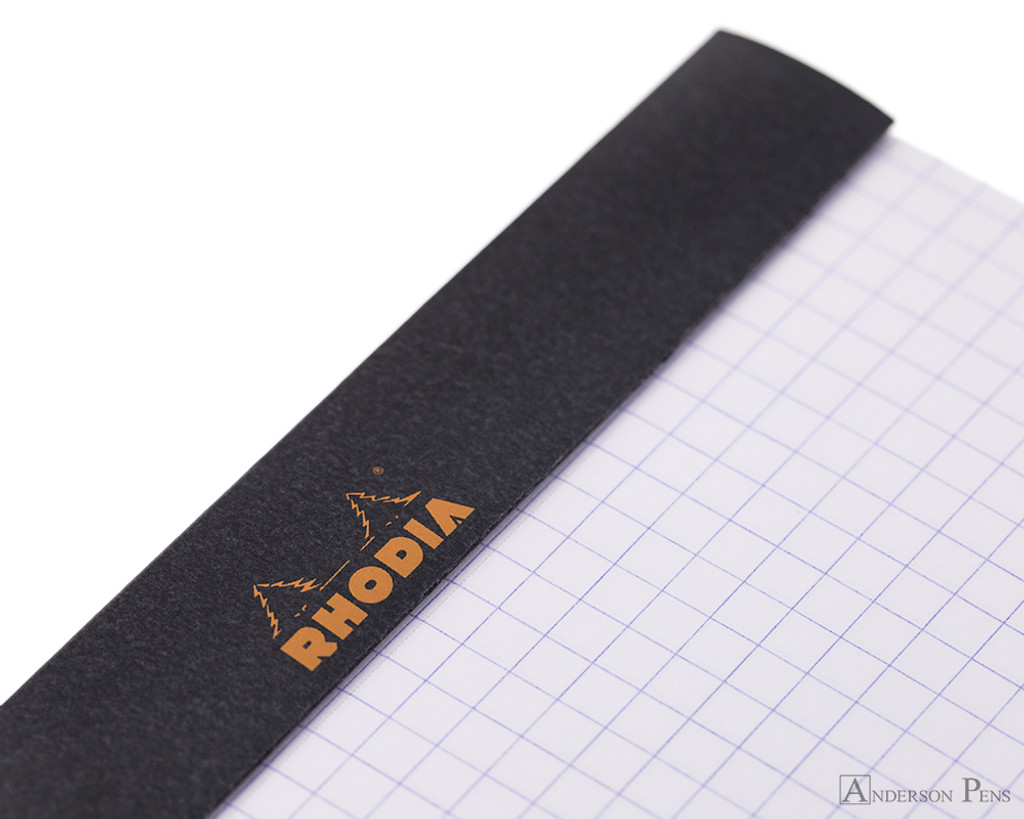 Rhodia No. 16 Staplebound Notepad - A5, Graph - Black perforations