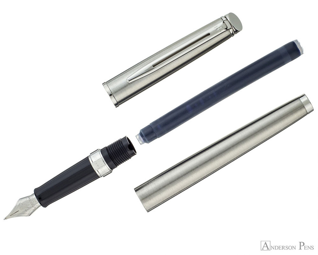 Waterman Hemisphere Stainless Steel CT FP