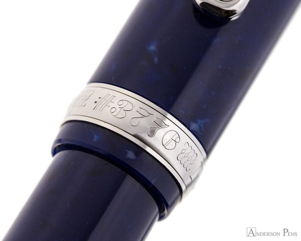 Platinum 3776 Celluloid Fountain Pen - Ocean Blue