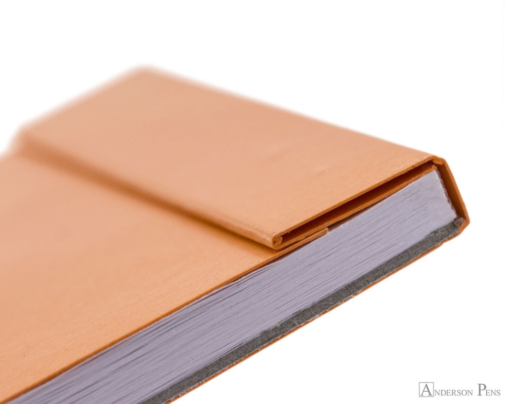 Rhodia Pocket Notepad - 3 x 4.75, Dot Grid - Orange cover fold over