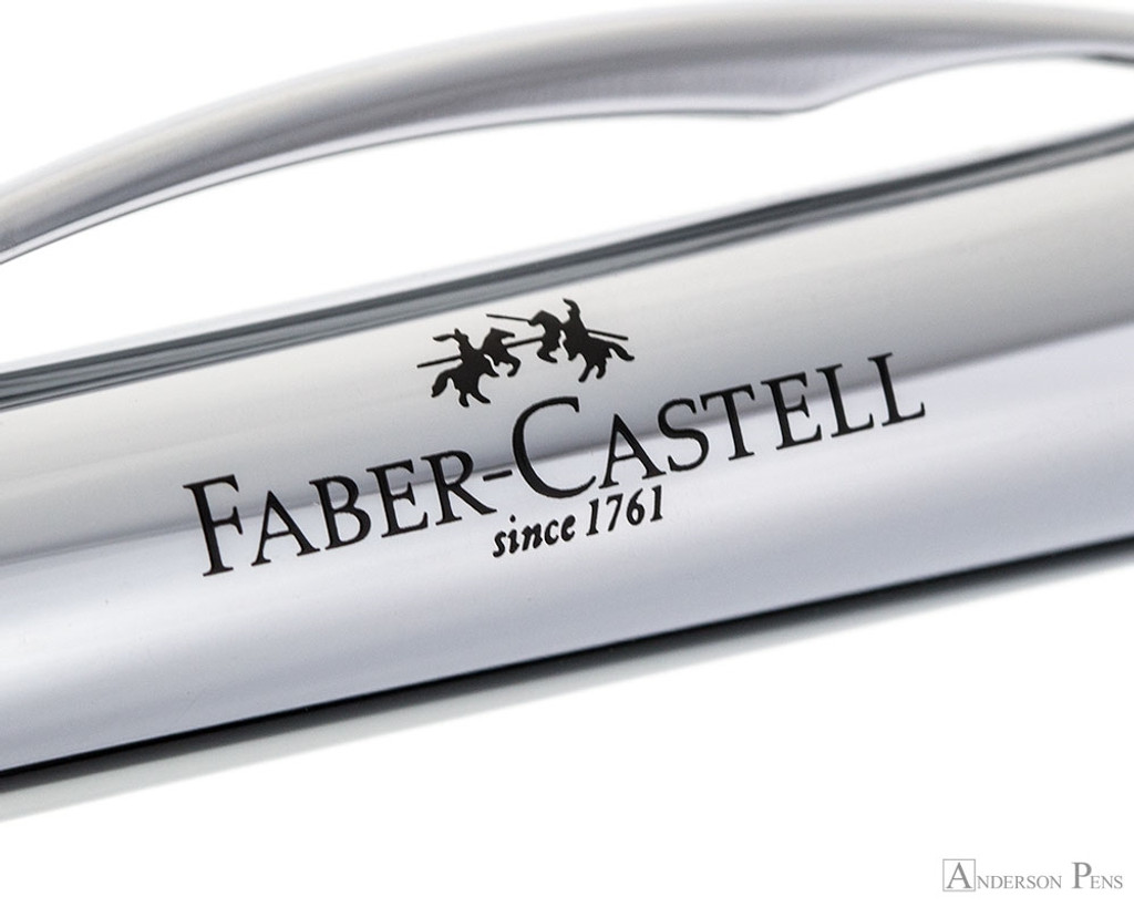 Faber-Castell Essentio Pencil Polished Silver Grip