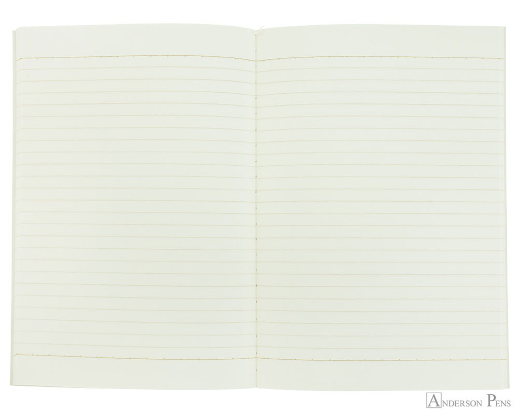 Life Kappan Notebook - A5 (6 x 8), Lined Paper - Open