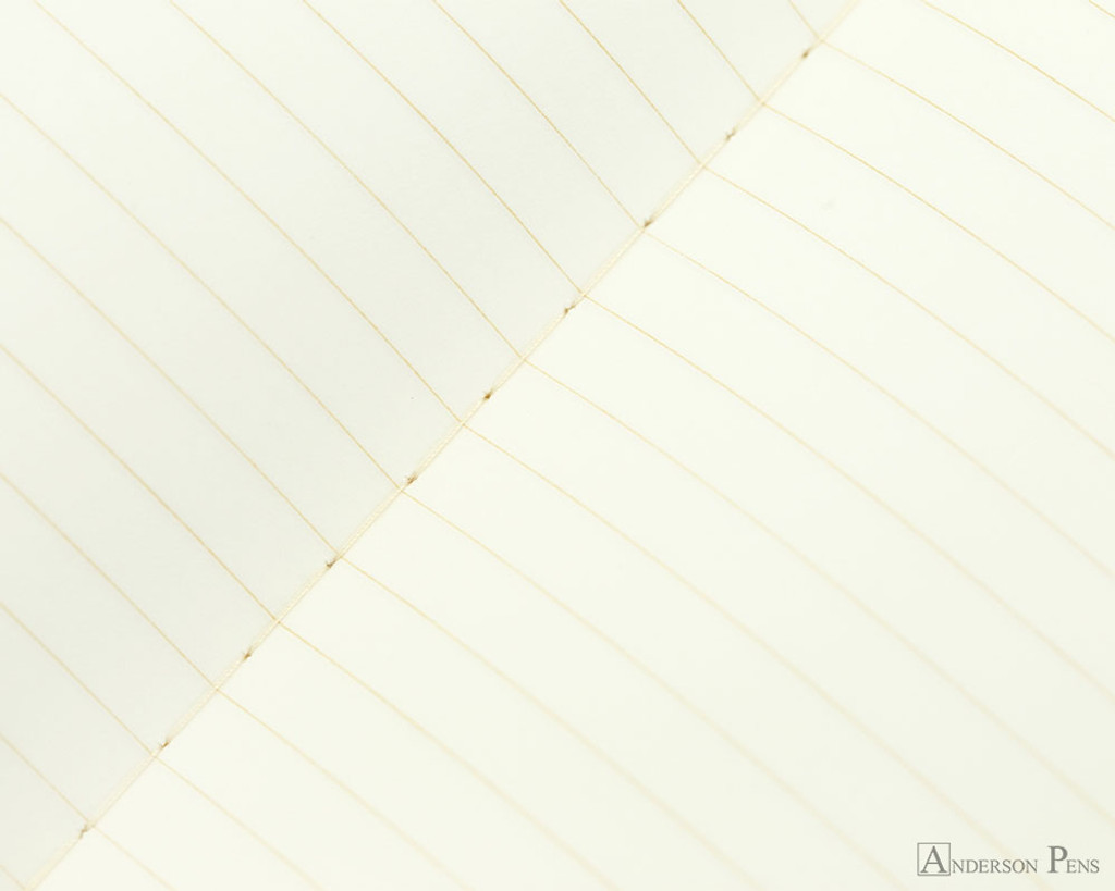 Life Kappan Notebook - A5 (6 x 8), Lined Paper - Page Closeup