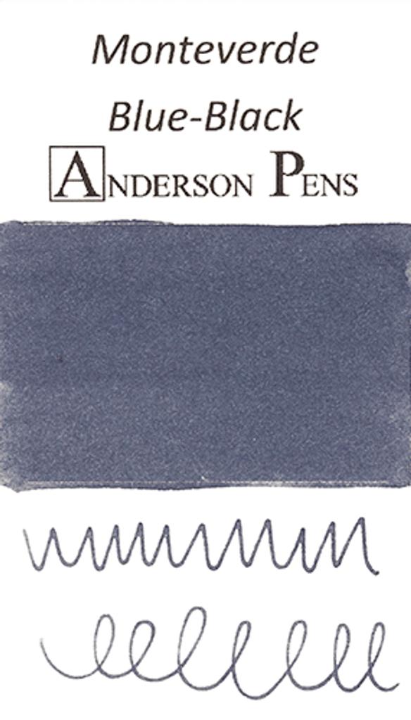 Monteverde Blue-Black Ink Color Swab