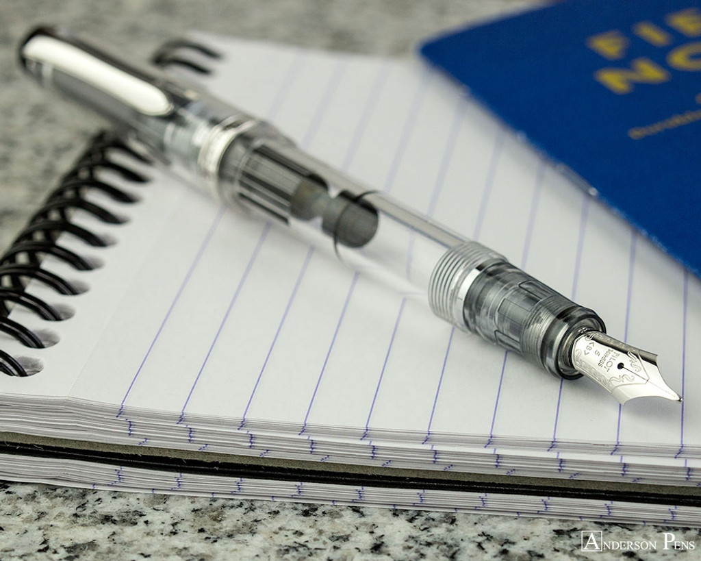 Pilot Custom Heritage 92 Fountain Pen - Clear - Posted on Notebook
