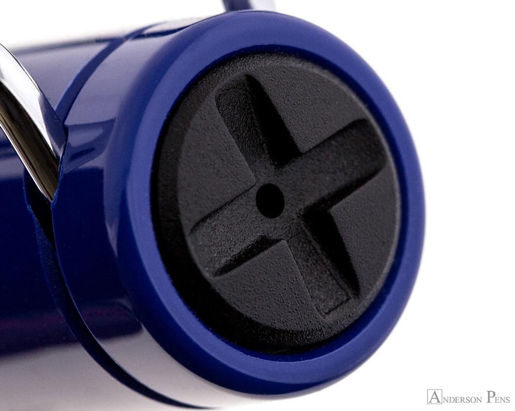 Lamy Safari Fountain Pen - Blue - Cap Jewel