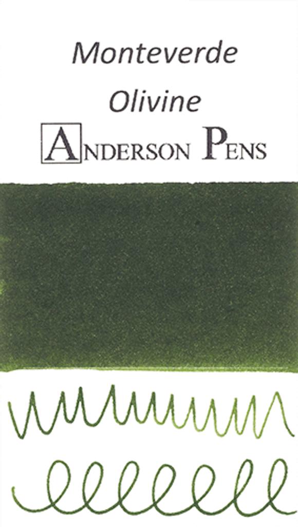 Monteverde Olivine Ink Sample (3ml Vial)