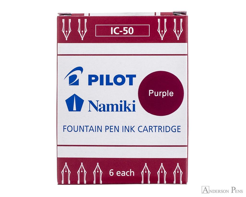 Pilot Namiki Purple Ink Cartridges (6 Pack)