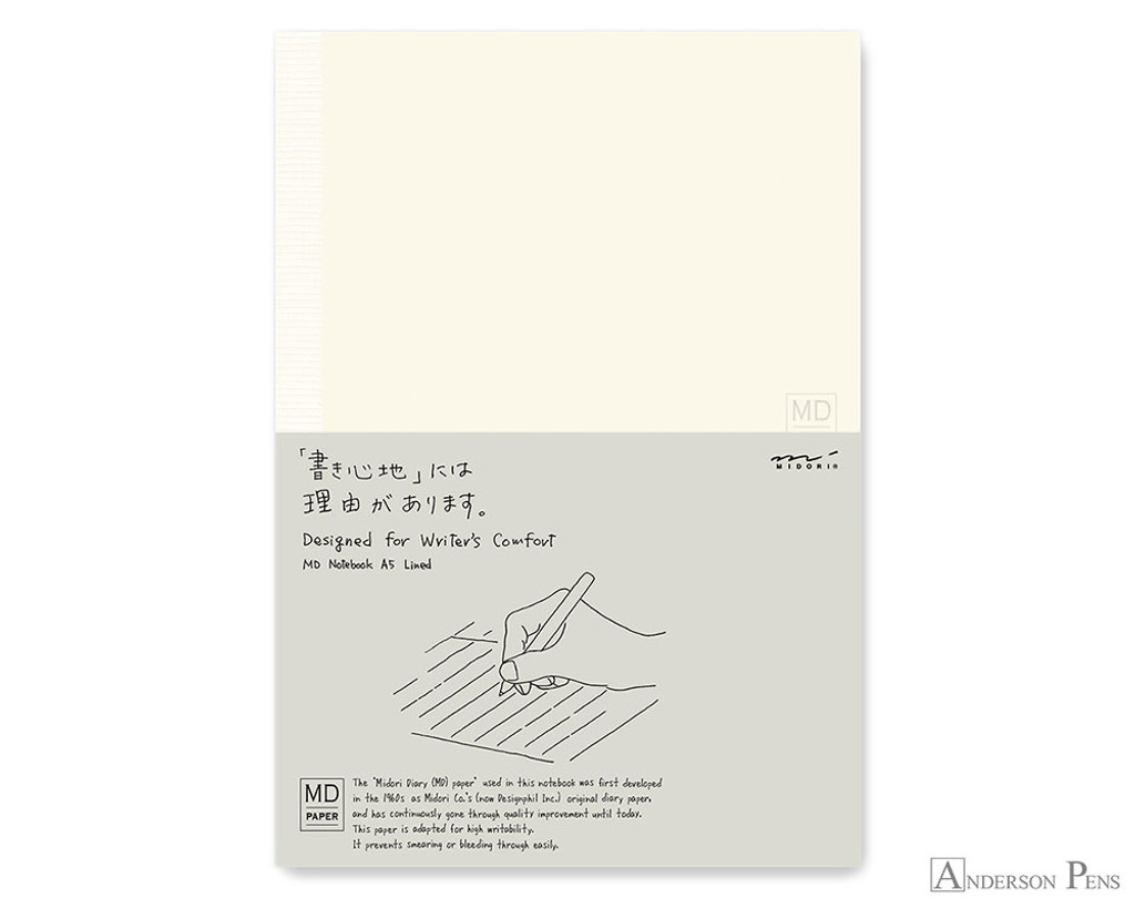 Midori MD Notebook A5 - Lined