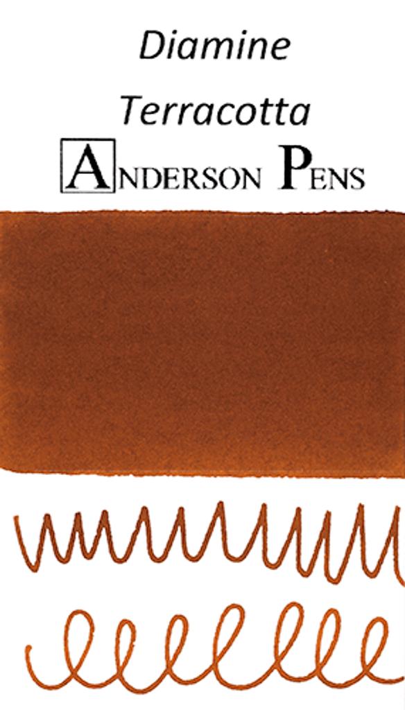 Diamine Terracotta Ink Sample (3ml Vial)