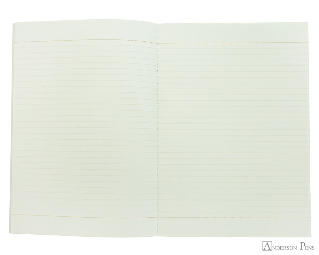 Life Kappan Notebook - B5 (7 x 10), Lined Paper - Open