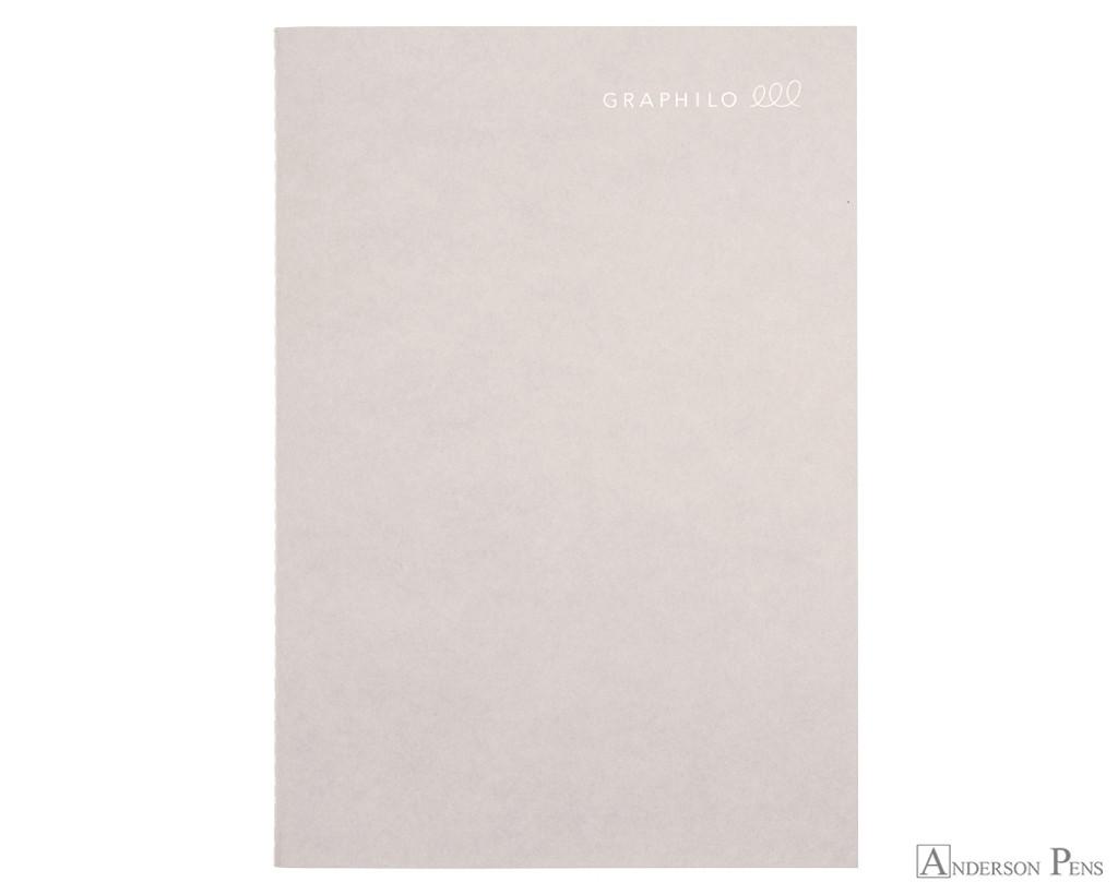 Kobeha Graphilo Notebook - A5, Graph - Gray